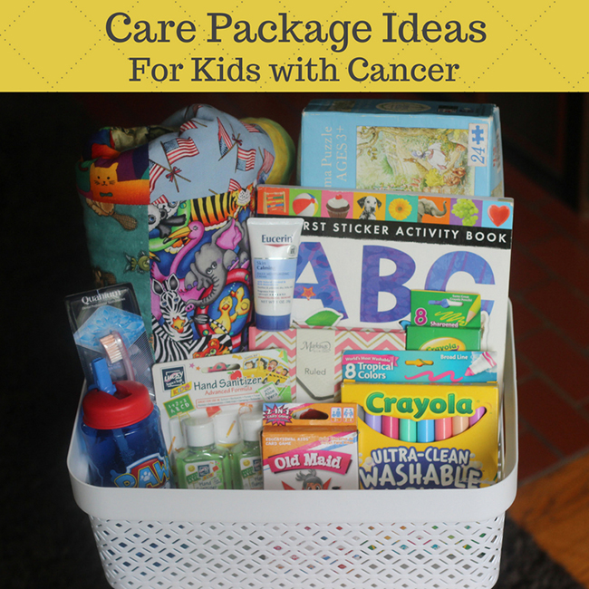 Care Package Ideas for a Child with Cancer
