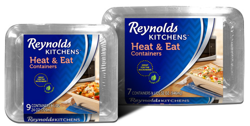 New Containers for Your Meals and Potlucks