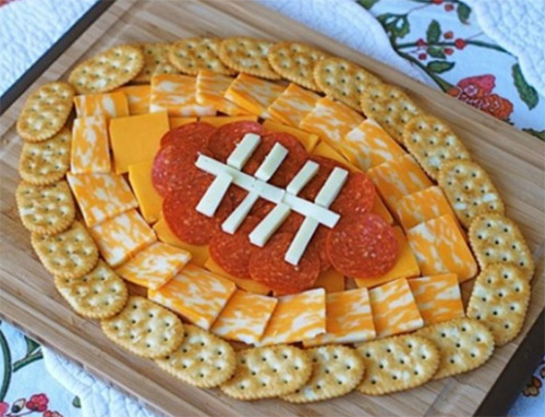 Team Color Snack Ideas for Sunday's Big Game
