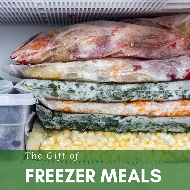 The Gift of Freezer Meals