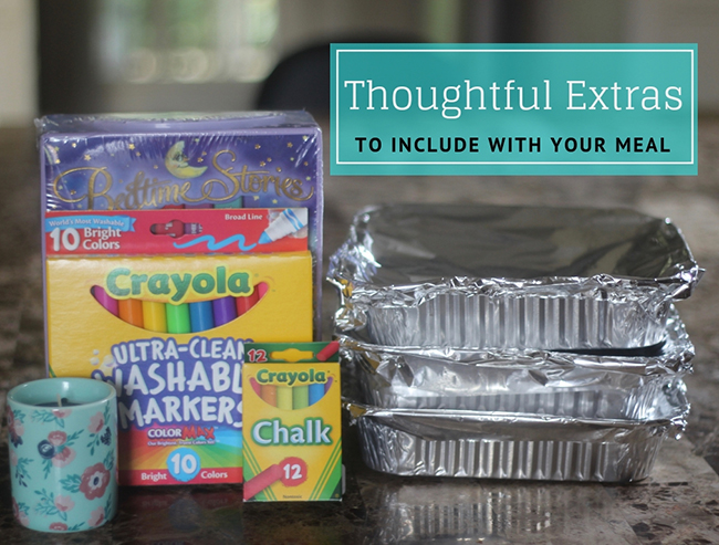 Thoughtful Extras to Include with your Meal