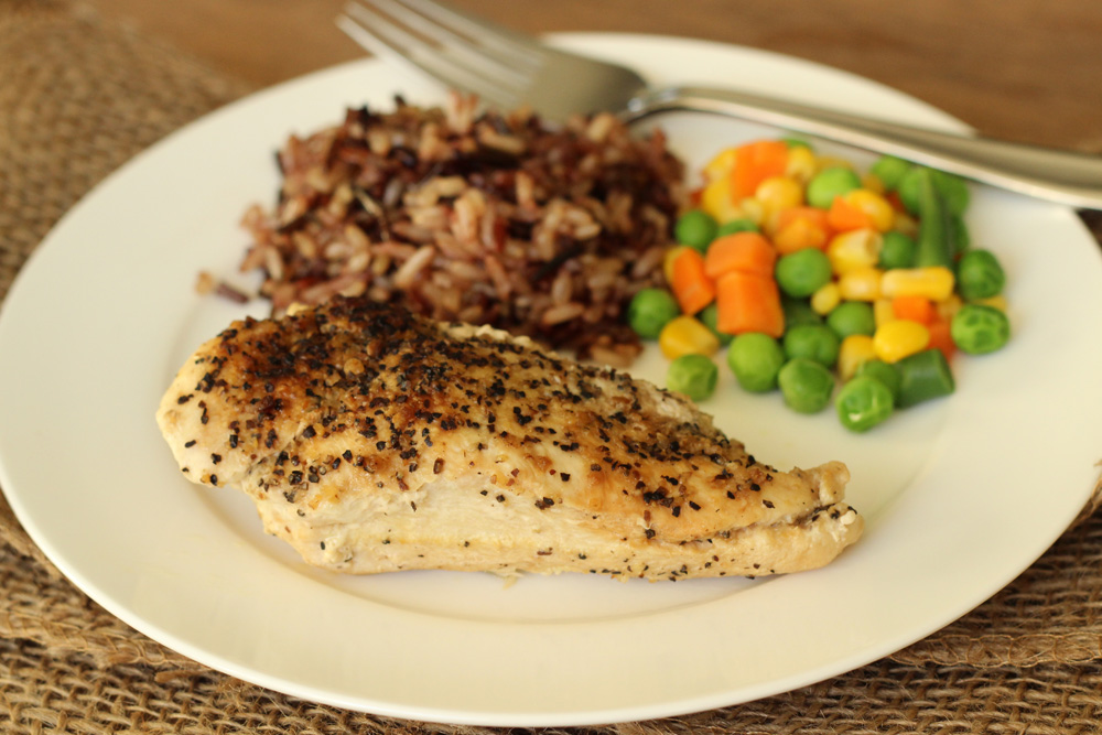 Simple Lemon Pepper Chicken